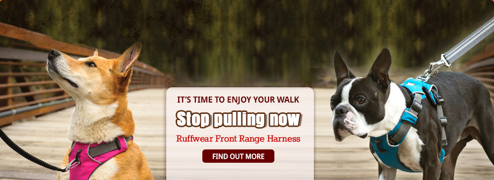 Try the Ruffwear Front Range Harness & Stop Your Dog's Pulling